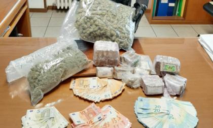 Arrestato spacciatore a Desio: sequestrati hashish, marijuana e contanti