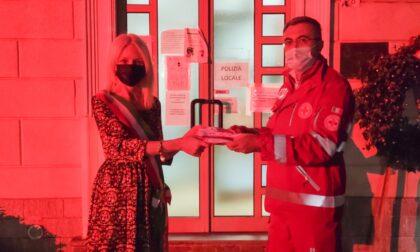 La bandiera della Croce Rossa sventola a Lentate e Barlassina