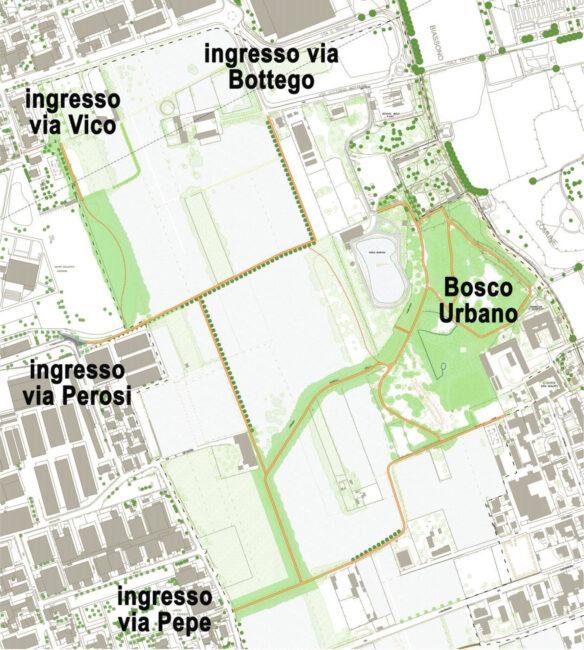 Lissone, nuovi accessi Parco