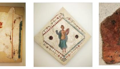 Restituiti sei affreschi al Parco Archeologico di Pompei, tre erano in una casa in Brianza