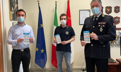 Cartoncini per i sordi alla Polizia locale