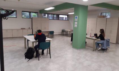 San Fruttuoso, aperta l'aula studio