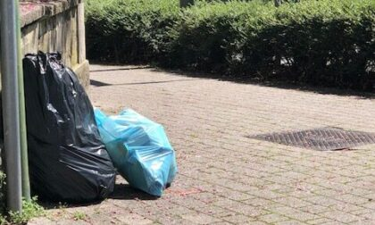Abbandona i rifiuti a Usmate: individuato e sanzionato con una multa da 600 euro