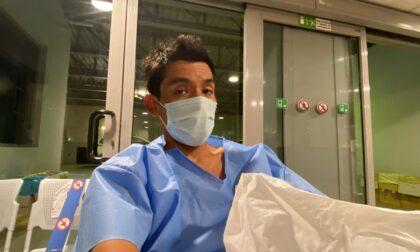 Rodney Soncco, dal Paradiso... all'ospedale