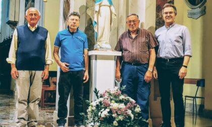 Restaurata a Robbiano la  Madonna sfregiata dall'Isis
