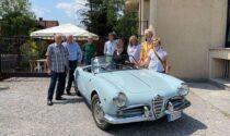 Da Briosco a Monza: giornata speciale per gli amici delle auto storiche