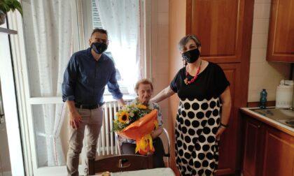 Omate in festa per nonna Ginetta