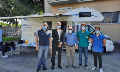 Vaccinazioni a domicilio, questa mattina il camper a Bovisio