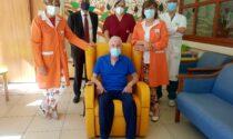 Nuove poltrone all'hospice, grazie ad Arca