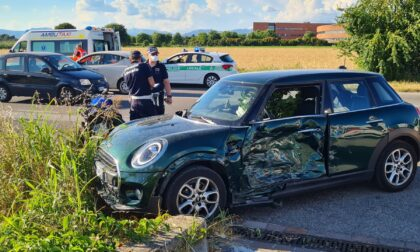 Dopo tre giorni è morto il centauro coinvolto nell'incidente a Vimercate