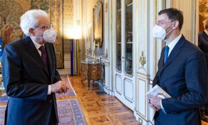 Il concorezzese Stefano Paleari premiato dal Presidente Sergio Mattarella
