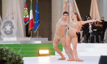 La lentatese Virna Toppi incanta il Quirinale danzando con Roberto Bolle per la Festa della Repubblica