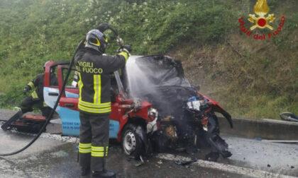 Frontale in superstrada nella bergamasca: morto un uomo di 37 anni. Coinvolto anche un monzese