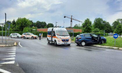 Incidente a Barlassina, paura per un ciclista
