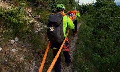 Paura in montagna per una 54enne, salva grazie al Soccorso Alpino