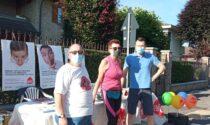 Volontari AIDO in piazza a Lentate