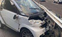 Incidente in Tangenziale a Vimercate, 39enne in gravi condizioni