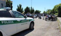 Maxi blitz contro le corse clandestine in moto: 40 identificati