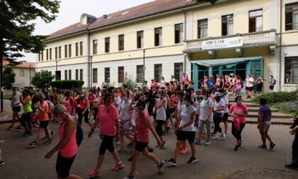 Una vita in rosa in cammino a Lissone contro il cancro
