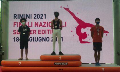 Ginnastica artistica, Mattia Mellerato vice campione d'Italia alla sbarra