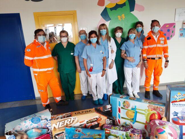 donazione Croce Bianca Brugherio ospedale Desio
