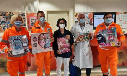 Giochi per bambini della Pediatria dalla Croce Bianca di Brugherio