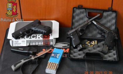 Droga e armi detenute illegalmente: arrestato pluripregiudicato