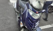 Freni rotti in discesa da Brunate a Como, miracolata una coppia in scooter