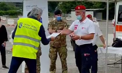 Dopo oltre 3mila vaccinazioni chiude l'hub drive through di Monza