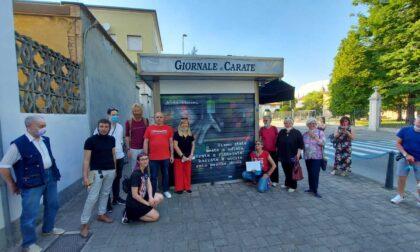 Inaugurata l'edicola artistica contro la violenza sulle donne