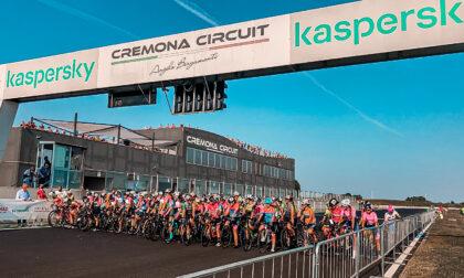 Le atlete della S.C. Cesano Maderno impegnate in Autodromo a Cremona