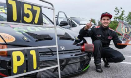 Mattia, campione di motorsport: da meccanico a pilota premiato