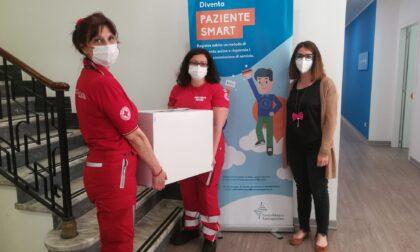 Donati alla Croce Rossa di Monza 250 test rapidi