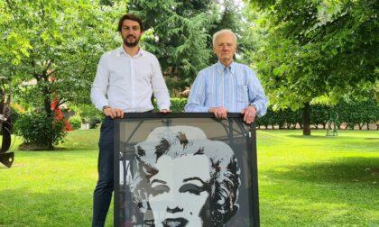 Apre oggi, lunedì 21 giugno, la mostra di Andy Warhol al centro vaccinale di Vimercate