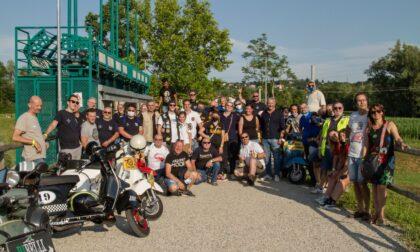 Un successo per il quarto VespAperiTour: giro della Brianza su due ruote