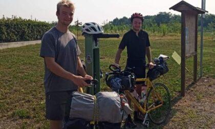 Dalla Francia alla Croazia in bicicletta, passando per... Bellusco