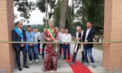Inaugurato il grande parco pubblico nel cuore di Lentate