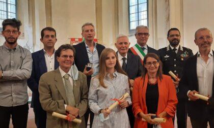 Consegnate le civiche benemerenze Città di Cesano Maderno