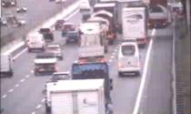 Incidente in A4 tra Trezzo e Cambiago: coinvolto un mezzo pesante