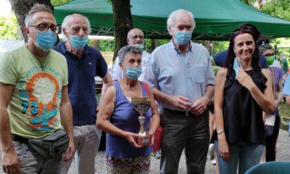 Giovani e meno giovani si sono sfidati nel torneo di Petanque