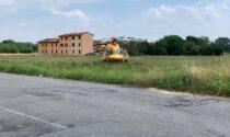 Infortunio sul lavoro ad Agrate: anche l'elisoccorso sul posto
