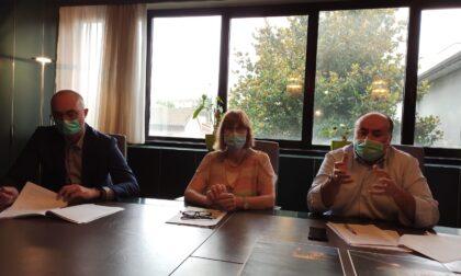 Lissone, segretario Bergamelli con sindaco e vicesindaco