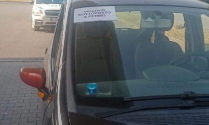 Controlli stradali a Brugherio: pizzicato a guidare senza patente