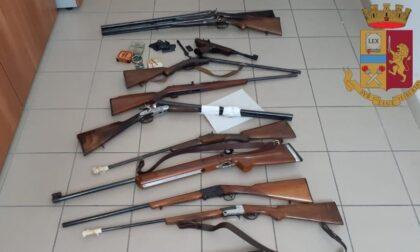 Armi detenute illegalmente e un minorenne beccato in una sala scommesse