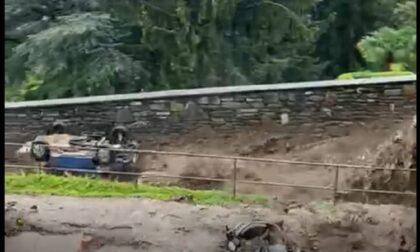 Ancora danni per il maltempo: un fiume di acqua e fango travolge Cernobbio