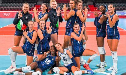 Olimpiadi, le azzurre della pallavolo sono uno spettacolo