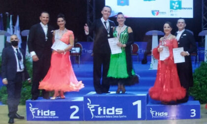 Luca e Sonia campioni Italiani Fids di danze standard