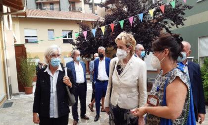 """La vicepresidente di Regione Lombardia visita l'Rsa """"Il Paese Ritrovato"""""""