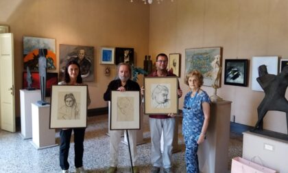 Tre nuovi dipinti donati al Museo Scalvini in Villa Tittoni