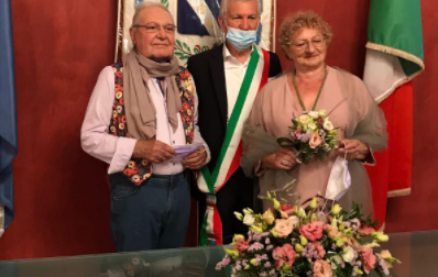 Giuliana e Luigi sposi a 80 anni